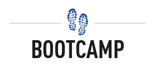 Boot Camp Line Logo